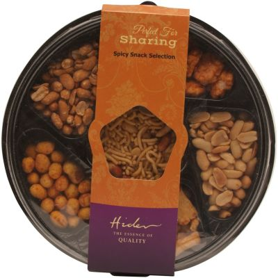Hider Spicy Snack Selection Tray 375g