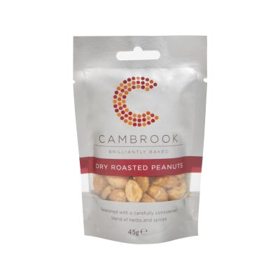 Cambrook Dry Roasted Peanuts 45g