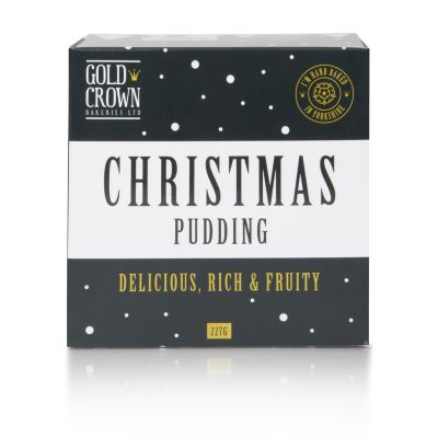 Gold Crown Xmas Pudding 227g
