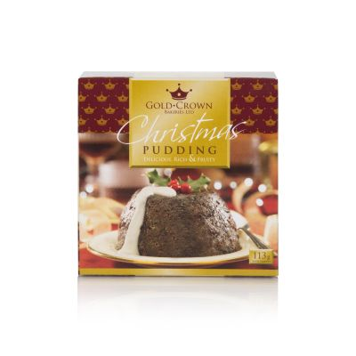 Gold Crown Rich & Fruity Christmas Pudding 113g