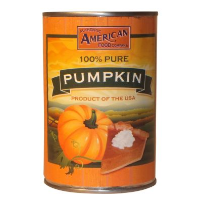 Authentic American Food Co Pure Canned Pumpkin 425g