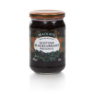 Mackays Scottish Blackcurrant Preserve 340g