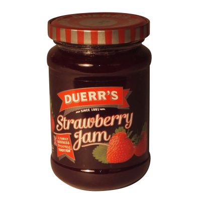 Duerrs Strawberry Jam 340g