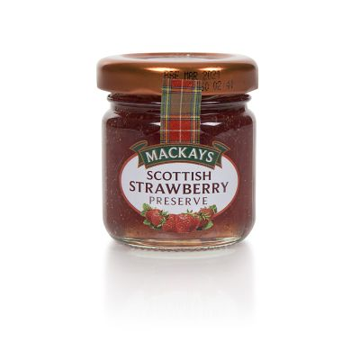 Mackays Strawberry Preserve 42g