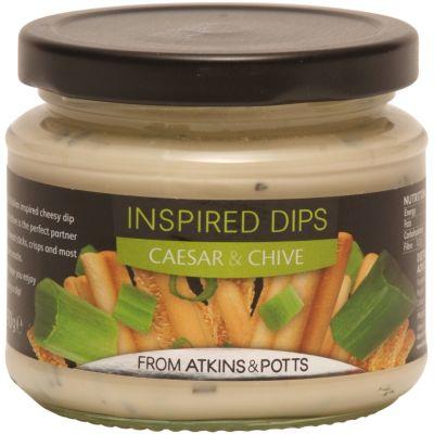 Atkins & Potts Casear & Chive Dip 190g