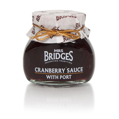 Mrs Bridges Cranberry Sauce with Port 113g