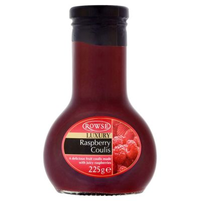 Rowse Raspberry Coulis 225g
