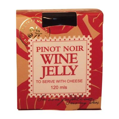 NZ Herb & Spice Mill Pinot Noir Wine Jelly 120ml
