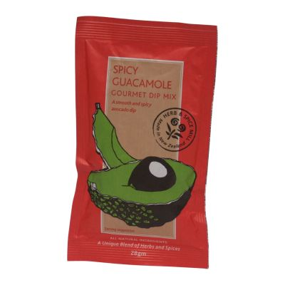 NZ H & S Mill Spicy Guacamole Dip 28g