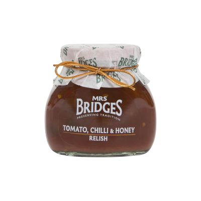 Mrs Bridges Tomato,Chilli and Honey Relish 205g