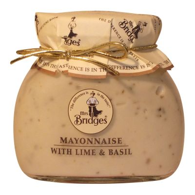 Mrs Bridges Lime & Basil Mayonnaise 180g
