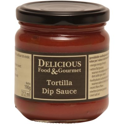 Delicious Food & Gourmet Tortilla Dip Sauce 212ml