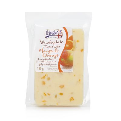 Wensleydale with Mango & Orange 150g