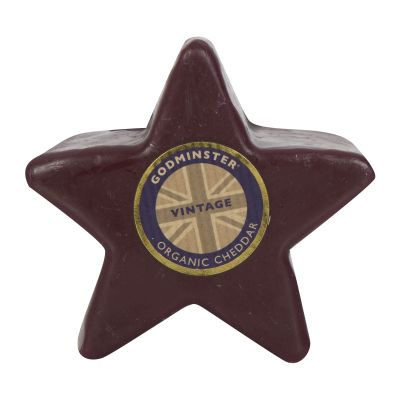 200g Godminster Star-Shaped Vintage Organic Cheddar