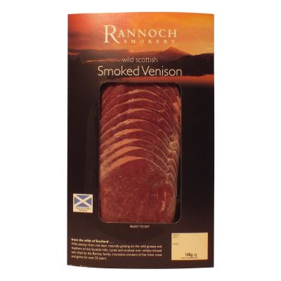Sliced Smoked Venison 100g