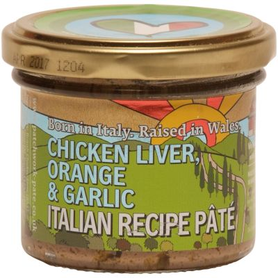 Patchwork Chicken Liver Pate with Orange and Garlic 90g
