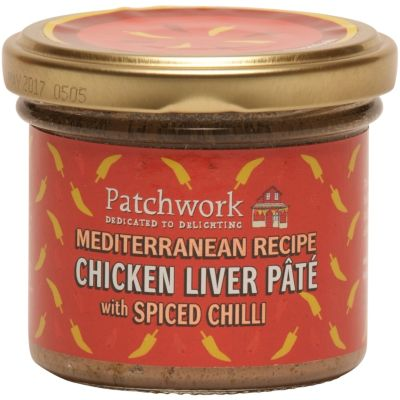 Patchwork Chicken Liver Pate with Spiced Chilli 90g