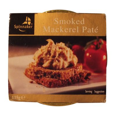 Spinnaker Smoked Mackerel Pate 115g