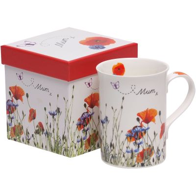Poppy Mug For Mum
