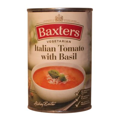 Baxters Italian Tomato Soup with Basil 400g