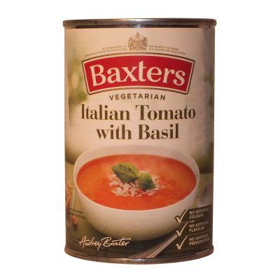 Baxters Italian Tomato Soup w Basil 400g