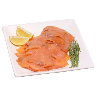 Sliced Smoked Salmon D Cut Interleaved 1000g