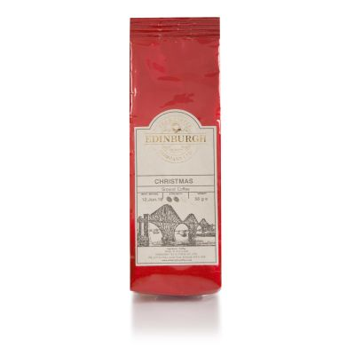 Edinburgh Tea & Coffee Christmas Coffee (Red Bag) 56g