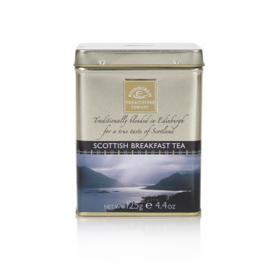 Edinburgh Tea & Coffee Scottish Breakfast Tea in a Caddy 125g