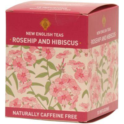 New English Teas  Rosehip and Hibiscus Tea Bags (10)