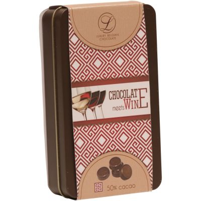 Chocolate Meets Wine Dark Chocolate 100g