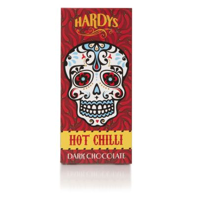 Hardys Hot Chilli Chocolate Bar 150g