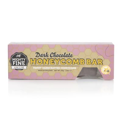 Mighty Fine Dark Chocolate Honeycomb Bar 43g