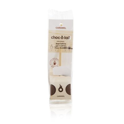 Choc o Lait Caramel Flavoured Chocolate Stirrer 33g