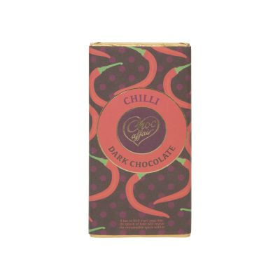 Choc Affair Chilli Dark Choc Bar 100g
