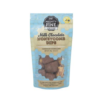 Mighty Fine Milk Chocolate Honeycomb Dips 90g