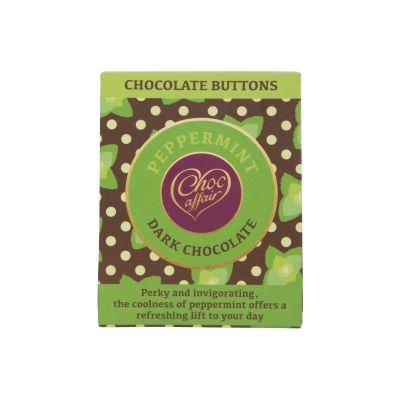 Choc Affair Choc Mint Buttons 40g
