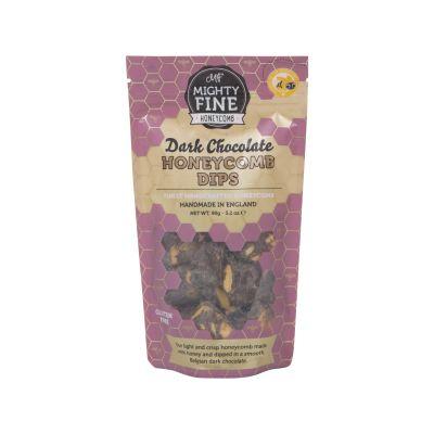 Mighty Fine Dark Chocolate Honeycomb Dips 90g