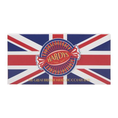 Hardys Union Jack Chocolate Bar 80g