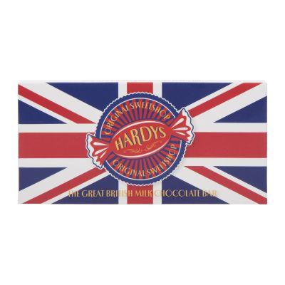 Hardys Union Jack Chocolate Bar 80g