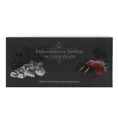110g Francisco Morena Strawberries Dipped in Chocolate