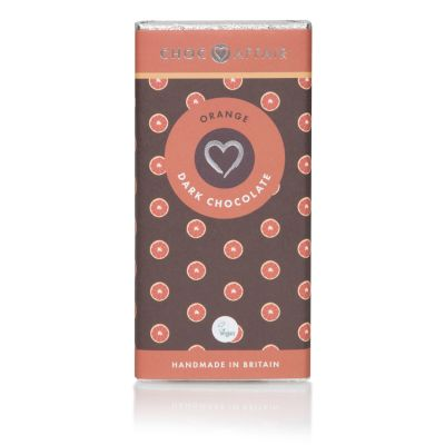 90g Choc Affair Dark Chocolate and Orange
