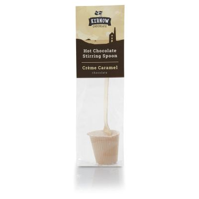 Kernow Hot Choc Spoon Crème Caramel (37g)