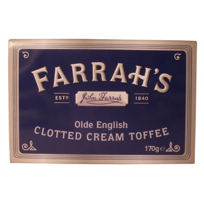 Farrahs Clotted Cream Toffee 170g