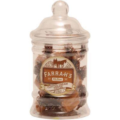 Farrahs Clotted Cream Toffee in Victorian Jar 145g