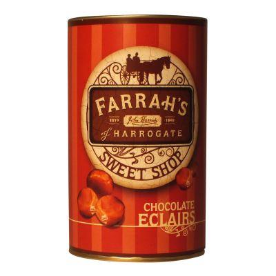 Farrahs Drum of Chocolate Eclairs 125g