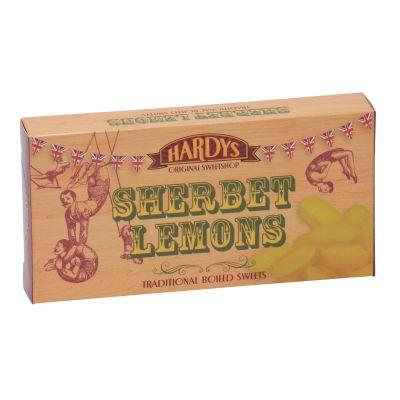 Hardys Sherbert Lemons 125g