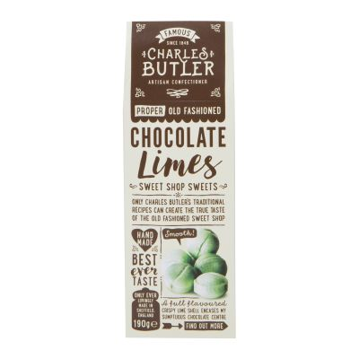 Charles Butler Choc Limes 190g