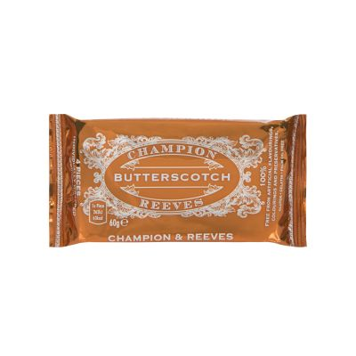 Champion and Reeves Butterscotch 60g