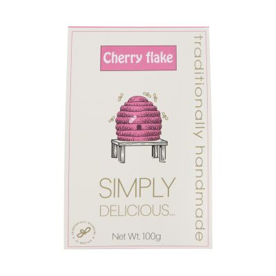 Simply Delicious Cherry Flake 100g