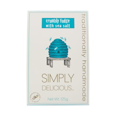 Simply Delicious Seasalt Fudge 125g